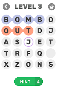 screenshot of HIDDEN WORDS - 99 FAILED version 1.1.9z