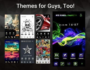 screenshot of Wallpaper Theme +HOME Launcher version Varies with device