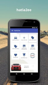 screenshot of Hatla2ee - new and used cars for sale version 2.6.6