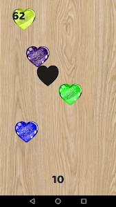 screenshot of Heart Crush - collect jelly hearts version 1.1.2