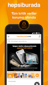 screenshot of Hepsiburada version Varies with device