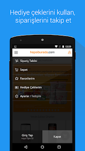 screenshot of Hepsiburada version 2.2.8