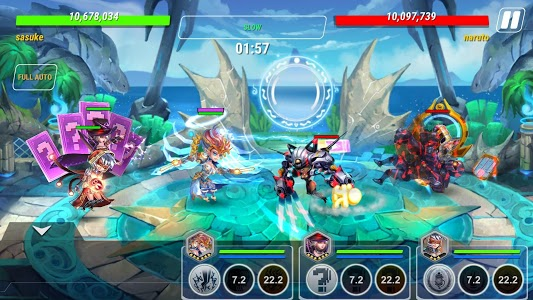 screenshot of Heroes Infinity: RPG + Auto Chess + God + strategy version 1.30.12L