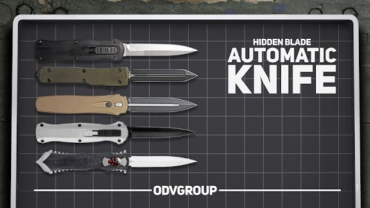 screenshot of Hidden blade automatic knife prank game version Varies with device