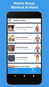 screenshot of Home Workout - No Equipment (Premium Quality) version 1.2.1