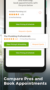 screenshot of HomeAdvisor: Contractors for Home Improvement version 9.9.0.18