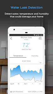 screenshot of Honeywell Home version Varies with device