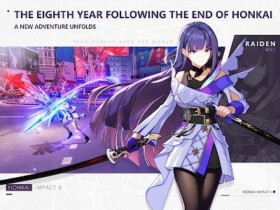screenshot of Honkai Impact 3 version 3.9.2