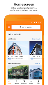 screenshot of ImmobilienScout24 - House & Apartment Search version Varies with device
