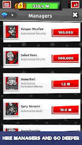screenshot of Into the Deep Web - Internet Mystery Idle Clicker version 1.0.12
