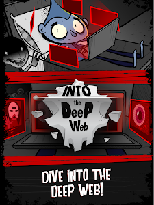 screenshot of Into the Deep Web - Internet Mystery Idle Clicker version 1.0.9