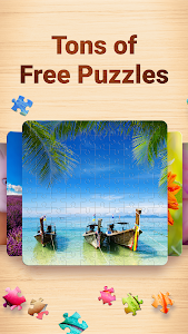 screenshot of Jigsaw Puzzles - Puzzle Game version 1.0.2