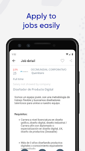 screenshot of Jobs Search and Employment - OCCMundial version 4.4.1