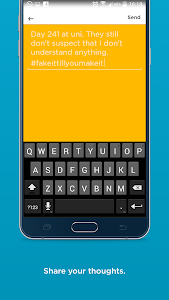 screenshot of Jodel version 4.36.0