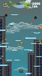 screenshot of Jumper Starman: Arcade Pixel Adventure version 1.0.0.1