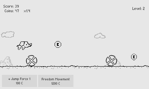 screenshot of Jumpo version 1.0