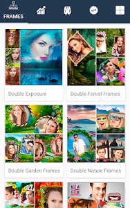 screenshot of Photo Frames Lab Editor: effects, filter & Collage version 1.1.1