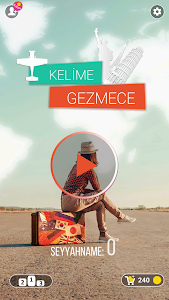 screenshot of Kelime Gezmece version 3.8