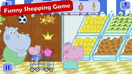 screenshot of Supermarket: Shopping Games version Varies with device