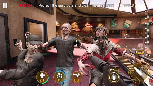 screenshot of Kill Shot Virus: Zombie FPS Shooting Game version 2.0.0