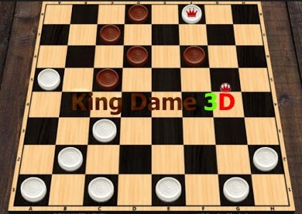 screenshot of King Dame 3D Free version 1.8