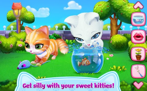 screenshot of Kitty Love - My Fluffy Pet version 1.1.6
