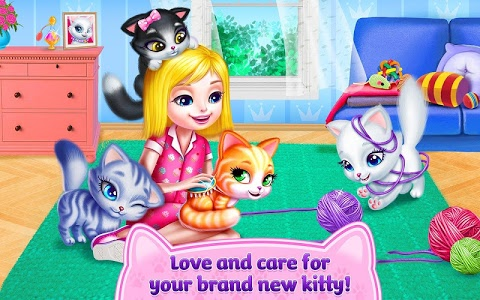 screenshot of Kitty Love - My Fluffy Pet version 1.1.5