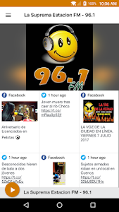 screenshot of La Suprema Estacion FM - 96.1 version 5.0.12