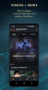 screenshot of League+ version 1.9.9