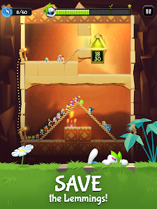 screenshot of Lemmings: The Official Game version 2.30