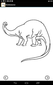 screenshot of Lets Draw Animals and Dinos version 2.01