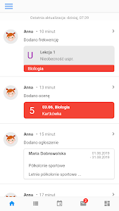 screenshot of Librus version Varies with device