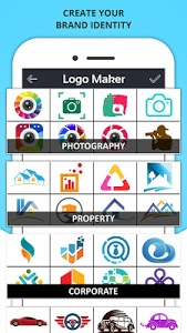screenshot of Logo Maker - Icon Maker, Creative Graphic Designer version 1.5