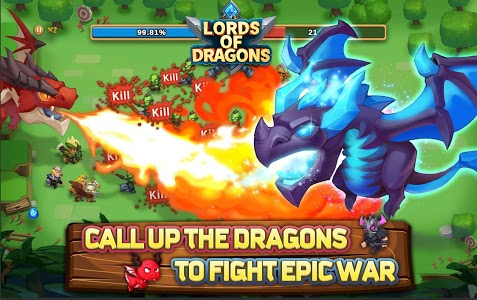 screenshot of Lords of Dragons version 0.2.0.1
