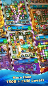 screenshot of Lost Jewels - Match 3 Puzzle version 2.91