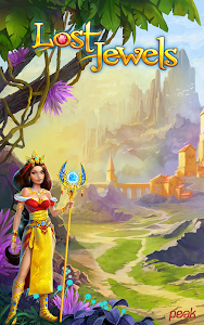 screenshot of Lost Jewels - Match 3 Puzzle version 2.98
