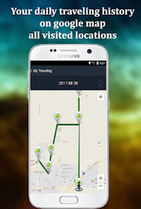 screenshot of Mobile tracking version 1.8.4