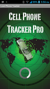 screenshot of Mobile tracking version 1.5