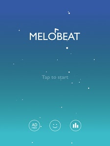 screenshot of MELOBEAT - Awesome Piano & MP3 Rhythm Game version 1.7.8