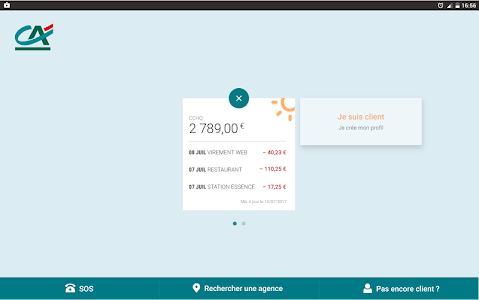 screenshot of Ma Banque version Varies with device