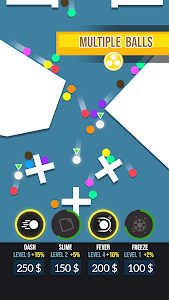 screenshot of Marble Race! version 1.4.3