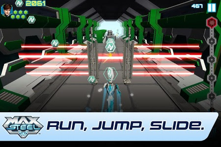 screenshot of Max Steel version 1.4.1