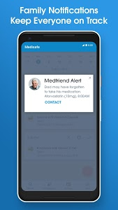 screenshot of Pill Reminder and Medication Tracker by Medisafe version Varies with device