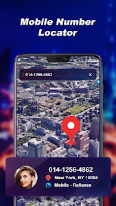 screenshot of Mobile Number Locator - Find Phone Number Location version 3.1.2