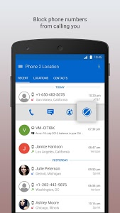 screenshot of Phone 2 Location - Caller ID Mobile Number Tracker version 6.68