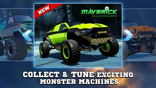 screenshot of Monster Trucks Racing 2019 version 3.0.3