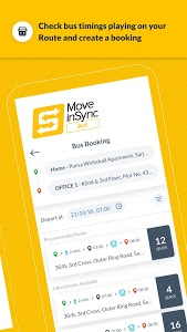 screenshot of MoveInSync - Office commute solution version 7.3.1