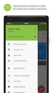 screenshot of MoveInSync - Office commute solution version 6.6