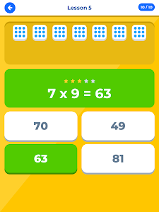 screenshot of Multiplication Table IQ / Times Tables version 1.3.2