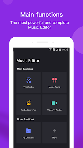 screenshot of Music Editor version 5.1.8